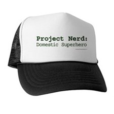 Project Nerd: Domestic Superhero Trucker Hat