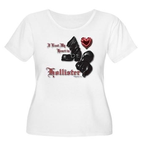Hollister Valentine's T-Shirt Women's Plus Size Sc