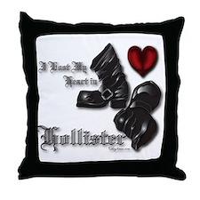 Hollister Valentine's T-Shirt Throw Pillow