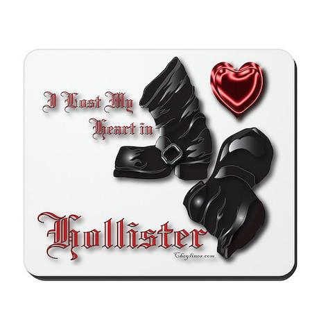 Hollister Valentine's T-Shirt Mousepad