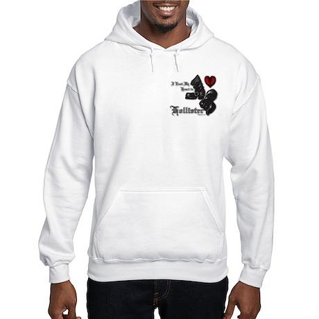 Hollister Valentine's T-Shirt Hooded Sweatshirt
