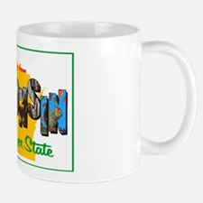 Wisconsin Greetings Mug