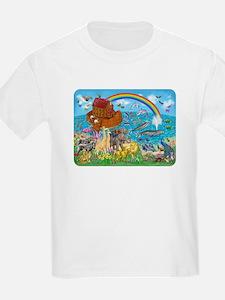 Noah's Ark Animal Kid's Light T-Shirt