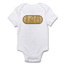 """Beer"" Egyptian Hieroglyphs Infant Bodysuit"