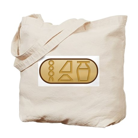"""Beer"" Egyptian Hieroglyphs Tote Bag"