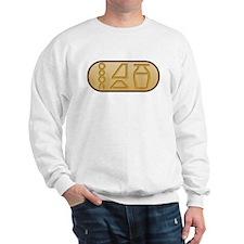 """Beer"" Egyptian Hieroglyphs Sweater"
