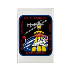 STS-118 patch Rectangle Magnet