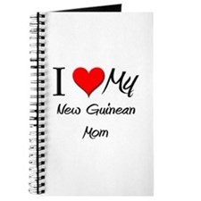 I Love My New Guinean Mom Journal