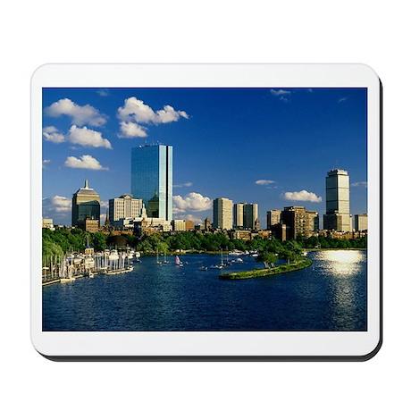 Boston Back Bay Area Mousepad