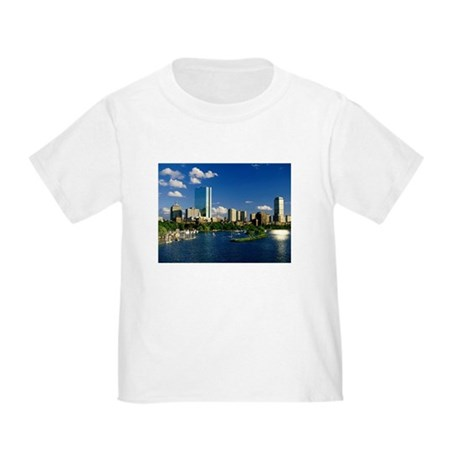 Boston Back Bay Area Toddler T-Shirt