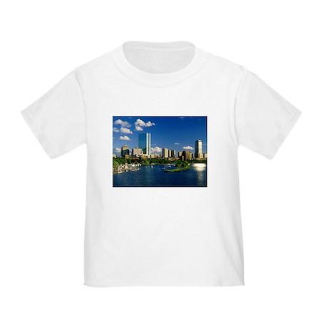 Boston Back Bay Area Toddler T-Shirt