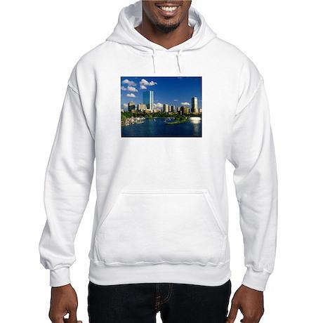 Boston Back Bay Area Hooded Sweatshirt