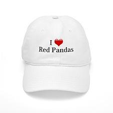 I Love Red Pandas Baseball Cap