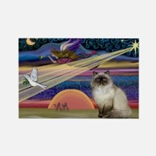 Cute Cute cat designs Rectangle Magnet