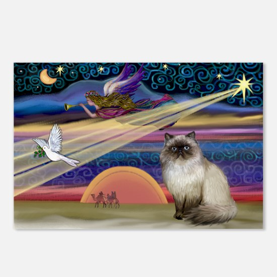 Unique Himalayan cat Postcards (Package of 8)