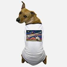 Cute Kitty art Dog T-Shirt