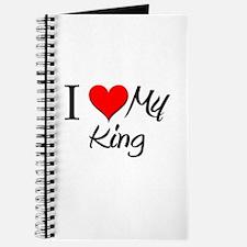 I Heart My King Journal