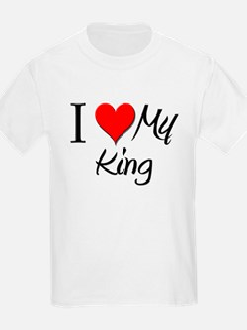 I Heart My King T-Shirt