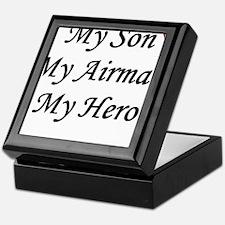 My Son, My Airman, My Hero Keepsake Box
