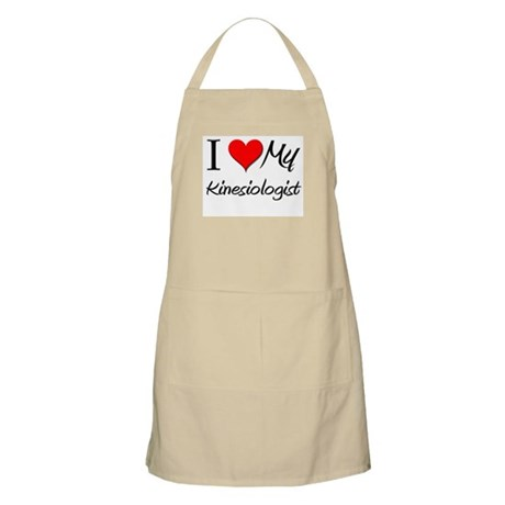 I Heart My Kinesiologist BBQ Apron