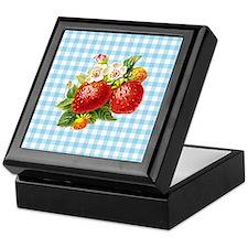 Retro Strawberry Keepsake Box