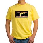Ride My Ass Yellow T-Shirt