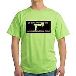 Ride My Ass Green T-Shirt