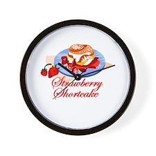 Strawberry Shortcake 2 Wall Clock