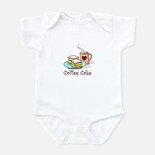 Coffee Cake  Infant Bodysuit