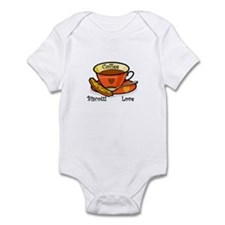 Coffee Biscotti Love Infant Bodysuit