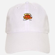 Coffee Biscotti Love Baseball Baseball Cap