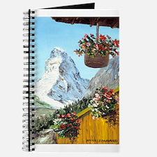 Matterhorn with flowers Journal