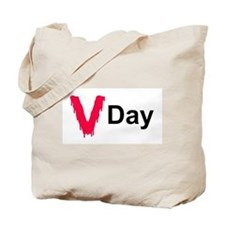 Bloody V Day Tote Bag