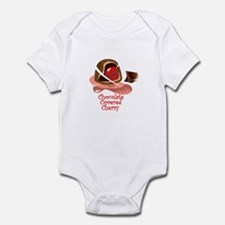 Chocolate Covered Cherry Infant Bodysuit
