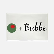 Olive Bubbe Rectangle Magnet
