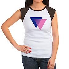 Bisexual Women's Cap Sleeve T-Shirt