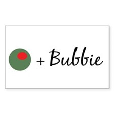 Olive Bubbie Rectangle Decal
