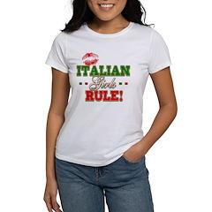 Italian Girls Rule Tee