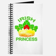 Irish Princess with Gold Crown Journal
