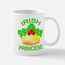 Irish Princess with Gold Crown Mug