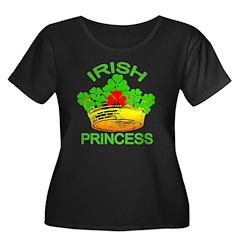 Irish Princess with Gold Crown T