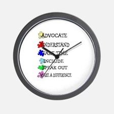 Advocate, Understand, Make a  Wall Clock