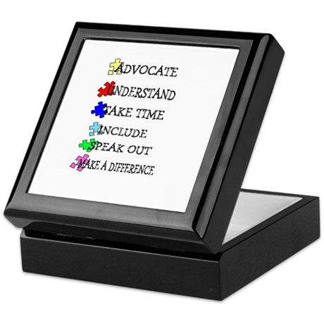Advocate, Understand, Make a Keepsake Box
