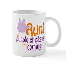 Purple Chickens Mug