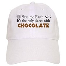Chocolate Earth Baseball Baseball Cap