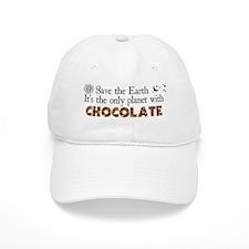Chocolate Earth Baseball Cap