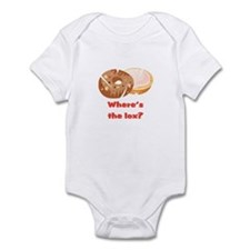 Where's the lox?  Infant Bodysuit