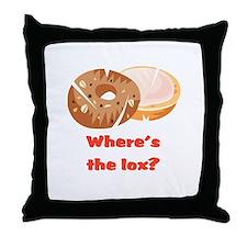 Where's the lox?  Throw Pillow