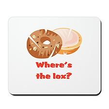 Where's the lox?  Mousepad