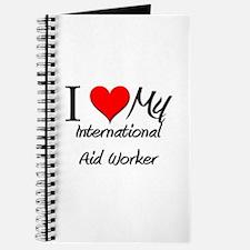 I Heart My International Aid Worker Journal